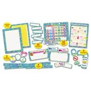 Scholastic Super Funky 108-Piece Classroom Bulletin Board Cut Out