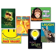 Trend Enterprises 6 Piece Assorted ''Attitude and Smiles'' Themed Motivational Prints Poster Set