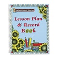 Teacher Created Resources Paw Prints Lesson Plan and Record Book with Monthly Planner, 160 Pages