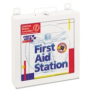FIRST AID ONLY, INC. First Aid Station for 50 People, 196 Pieces, Osha Compliant, Metal Case