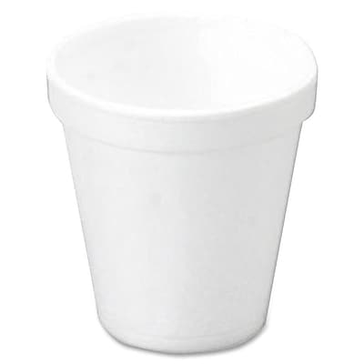 Dart Container Corp. 10 oz Foam Cups 25/Bag in White WYF078277508629