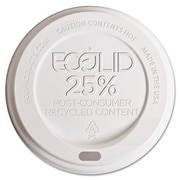 ECO-PRODUCTS 25pct Recycled Content Hot Cup Lid (1,000 Pack); 8 oz.