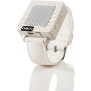 Bem Wireless BEMSW USB Bluetooth Speaker Watch, White