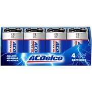 PowerMax ACDelco® 9V Alkaline Recloseable General Purpose Battery, 4/Pack