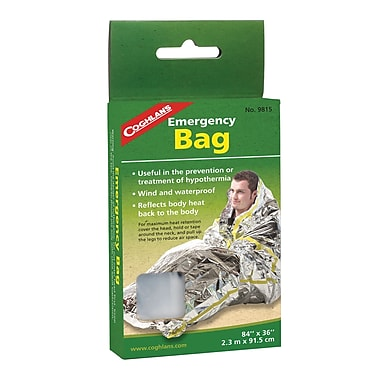 Emergency Survival Bag, 24/Pack
