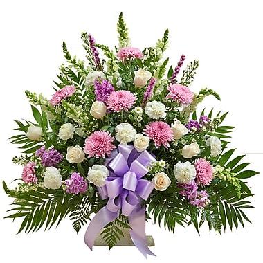 What A Bloom – Panier d'arrangements floraux sincère