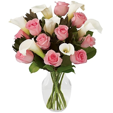 What A Bloom Pink Rose Bouquets