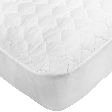 Maison Condelle Antibacterial 230TC Mattress Pad, Twin, White