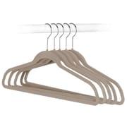 """Adrien Lewis Velvet Hanger 16.5"""" W x 0.1"""" D x 9"""" H,50/Pack"""