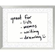 Amanti Art Damask Wall Mounted Whiteboard, 2' x 2'