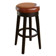 Abbyson Living Willow 26'' Bar Stool; Red
