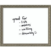 Amanti Art Parisian Wall Mounted Whiteboard, 1' x 2'