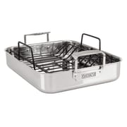 Viking 13'' Roasting Pan with Non-Stick Rack