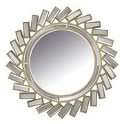 Abbyson Living Grace Round Wall Mirror