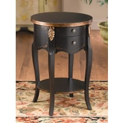 AA Importing End Table; Black