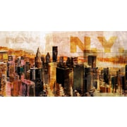 TAF DECOR Pop City 4 Graphic Art on Wrapped Canvas