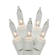 Vickerman Dura-Lit EC Lock 100 Light Set; Clear