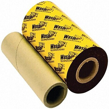 Wasp Wax Ribbon For Wpl305/Wpl608 Barcode Printers, 4.33