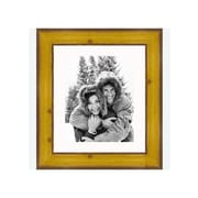 Frames By Mail 8'' x 10'' Rustic Pitted Pine Frame in Yellow