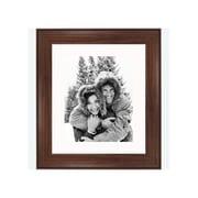 Frames By Mail 8'' x 10'' Traditional Frame in Dark Walnut