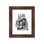 Frames By Mail 11'' x 14'' Traditional Frame in Dark Walnut