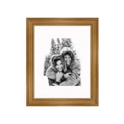 Frames By Mail 11'' x 14'' Traditional Frame in Pecan