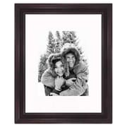 Frames By Mail 11'' x 14'' Traditional Frame in Mahogany