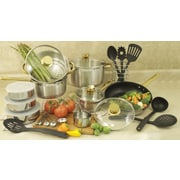Cook Pro 18/10 Stainless Steel 31-Piece Cookware Set