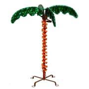 Vickerman Palm Tree Christmas Palm LED Rope Light; 21'' H x 19'' W x 17'' D