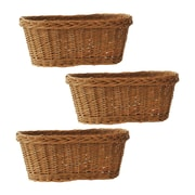 WaldImports 3 Piece Double Willow Basket Set (Set of 3)