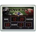 Team Sports America NFL Scoreboard Desk Clock; Seattle Seahawks