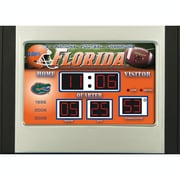 Team Sports America NCAA Scoreboard Desk Clock; Florida Gators