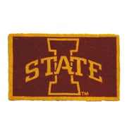 Team Sports America NCAA Iowa State Welcome Graphic Printed Doormat