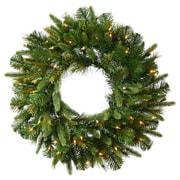 Vickerman Cashmere Wreath; 30''