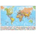 Waypoint Geographic World 1:40 Laminated Wall Map
