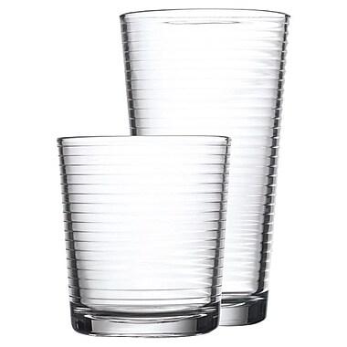 Home Essentials and Beyond 16 Piece Solar Drink Glass Set