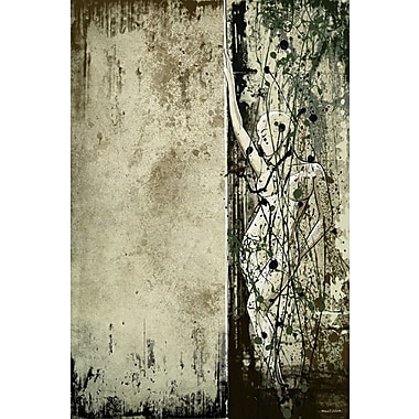 Maxwell Dickson Thin Line Painting Print on Wrapped Canvas; 20'' H x 16'' W