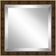 Ashton Wall D cor LLC Square Framed Beveled Plate Glass Mirror