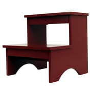 Decor Therapy 2-Step Manufactured Wood Step Stool; Red