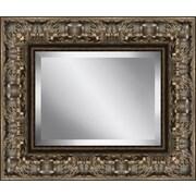 Ashton Wall D cor LLC Rectangle Aged Beveled Plate Glass Mirror
