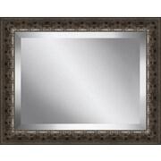 Ashton Wall D cor LLC Carved Wood Framed Beveled Plate Glass Mirror