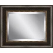 Ashton Wall D cor LLC Framed Beveled Plate Glass Mirror; Small