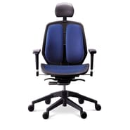 Duorest Alpha Executive Mesh Seat Office Chair; Blue