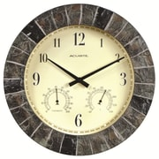 Chaney AcuRite 14'' Outdoor Clock Combo