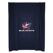 Sports Coverage NHL Columbus Blue Jackets Shower Curtain