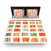 KESS InHouse Beach Towels by Daisy Beatrice Woven Duvet Cover; Queen