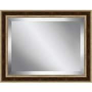 Ashton Wall D cor LLC Framed Beveled Plate Glass Mirror