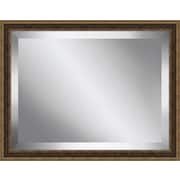 Ashton Wall D cor LLC Traditional Antique Framed Beveled Plate Glass Mirror