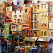 Portfolio Canvas Painted Palermo by Michael Longo Painting Print on Wrapped Canvas