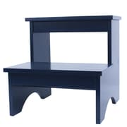 Decor Therapy 2-Step Manufactured Wood Step Stool; Classic Blue